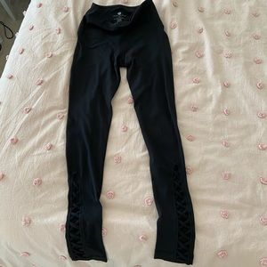 Black Yogalicious Active Leggings